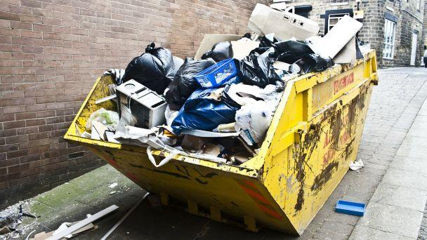 Jesenný zber  odpadu