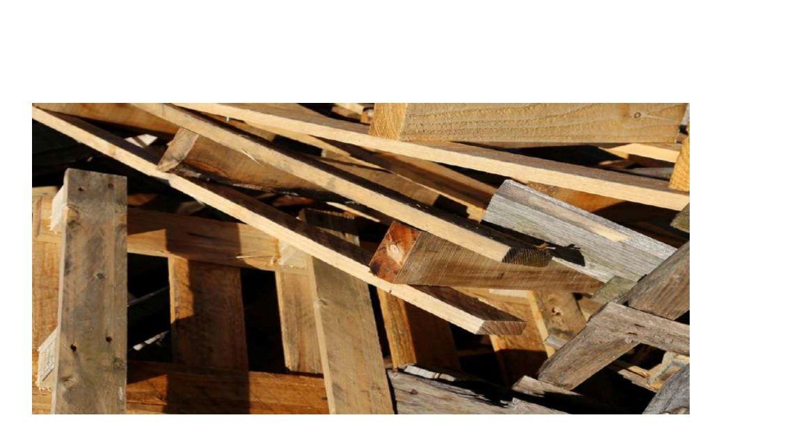 Kontajner na drevený odpad